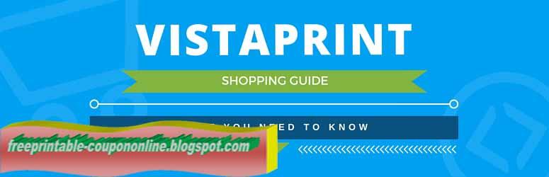 Vistaprint coupon canada 2018