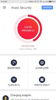 Avast Mobile Security Daftar Antivirus Gratis Terbaik Untuk Android