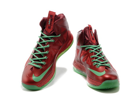 differently 6e390 be390 Nike Lebron X 10 Christmas Edition