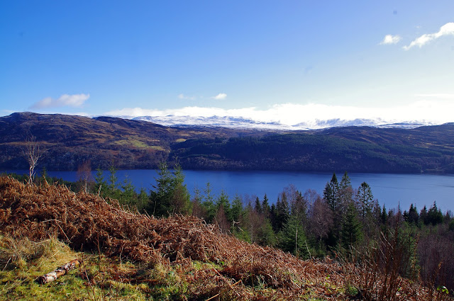 Scottish Highlands Alt na Criche Trail Loch Ness