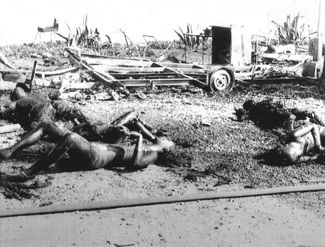 Alcanar (Tarragona) - Accidente del camping de los Alfaques.