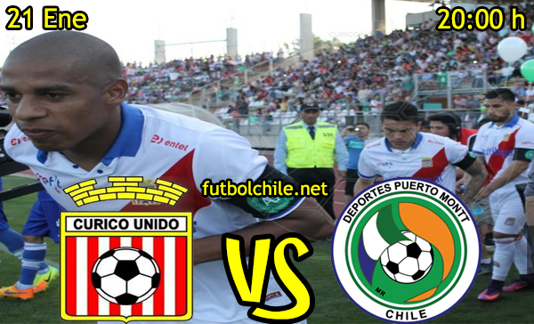 Ver stream hd youtube facebook movil android ios iphone table ipad windows mac linux resultado en vivo, online: Curicó Unido vs Puerto Montt