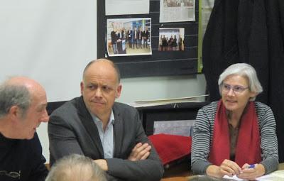 AG 2016 : M. Basset, Inspecteur de l'EN et Typhaine Le Foll, Conservateur et Directrice de l'écomusée