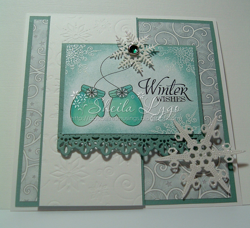 Cheery Lynn Designs Challenge 63 - Snowflakes - Cheery ...