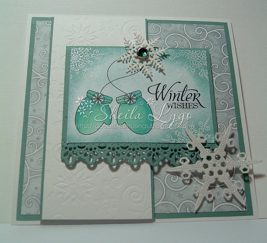 Cheery Lynn Designs Challenge 63 - Snowflakes - Cheery ...