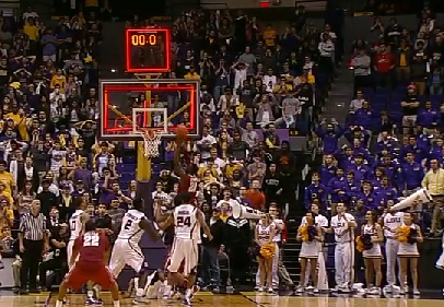 0a014b550bcc The end of the 2nd OT was bizarre as LSU s Anthony Hickey