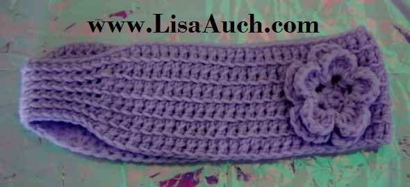 Free Crochet Patterns And Designs By Lisaauch Free Crochet Headband
