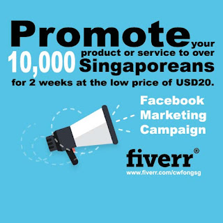 facebook marketing singapore fiverr gig