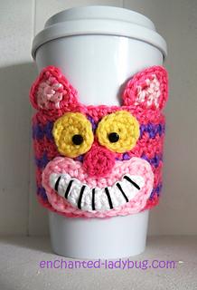 free cheshire cat crochet pattern