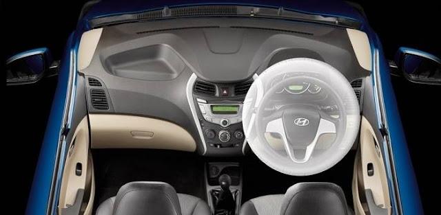 हुंडई ईओन, हुंडई ईओन driver seat