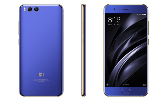Tampilan Xiaomi Mi6