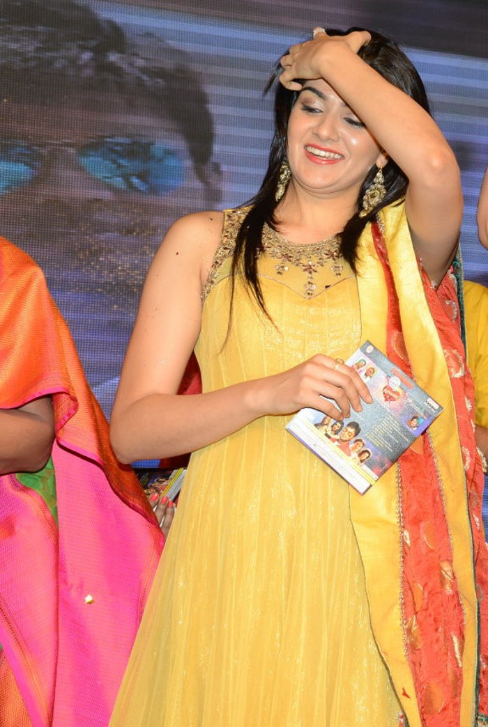 actress sakshi chowdhary photos movie audio launch