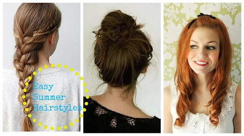 Easy Summer Hairstyles!