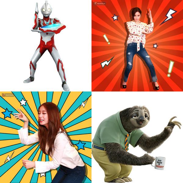 Thành viên T-ara thích thú khoe ảnh hóa thân hoạt hình do Kenh14.vn thực hiện