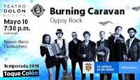 Concierto lanzamiento de BURNING CARAVAN