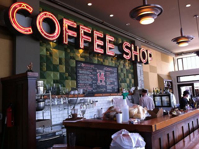 Coffe Shop na cidade de Amsterdã