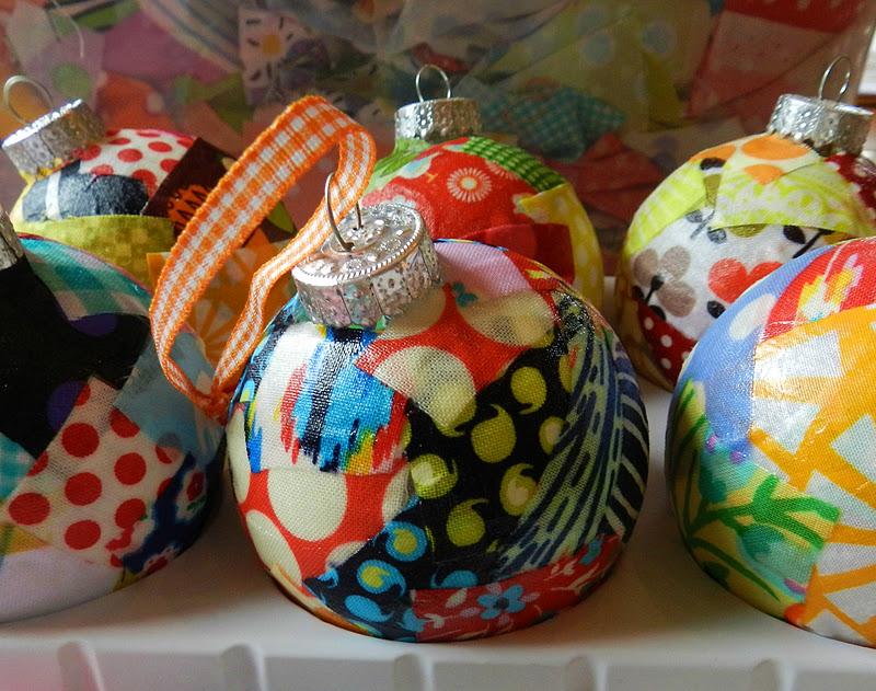 Sew To Speak Scrappy Ornaments