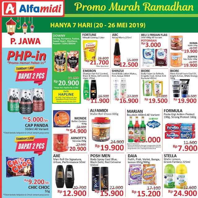 #Alfamidi - #pPromo Katalog Murah Ramadhan Periode 20 - 26 Mei 2019