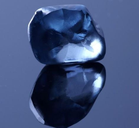 Botswana shows off country's largest-ever 2--carat blue Diamond