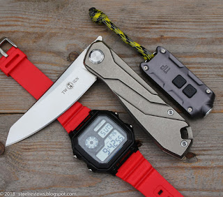 Two Sun TS07, SKMEI budget watch and Nitecore TIP