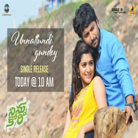 Unnattundi Gundey Ninnu Kori (2017) Telugu Movie Audio CD Front Covers, Posters, Pictures, Pics, Images, Photos, Wallpapers