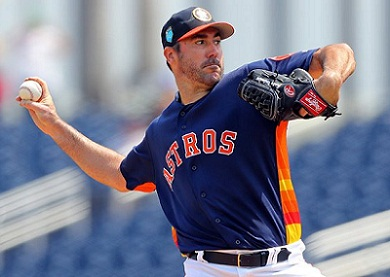 Astros's Verlander $94M, 3 year deal, fourth-highest average salary in MLB 2019, most salary
