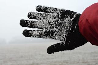 scaldare le mani fredde