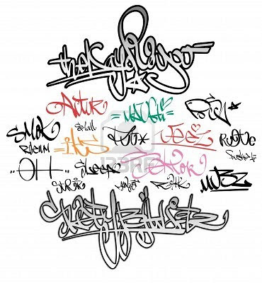 Rap Graffiti Art Fonts