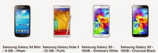 Harga Samsung Galaxy Update Nopember 2014