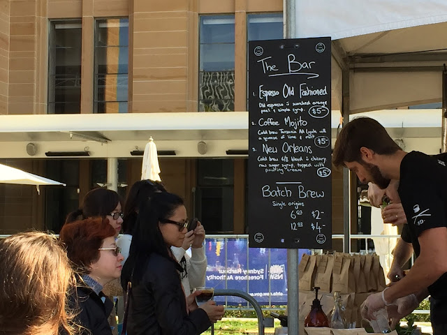 Sydney - The Rocks Aroma Festival 2015 Black Drum Roasters