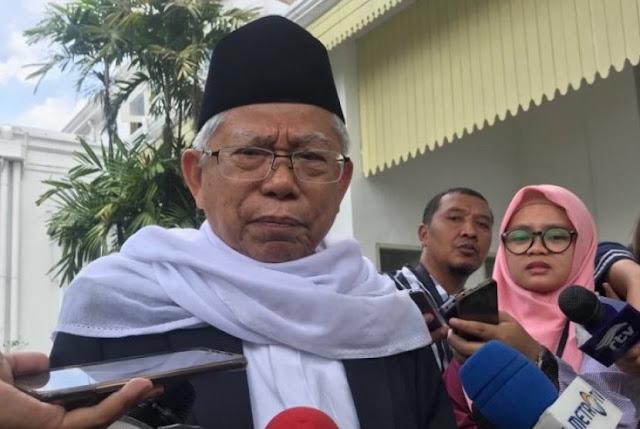 KH Ma'ruf Minta Prabowo Sebut Nama Elite Bermental Maling