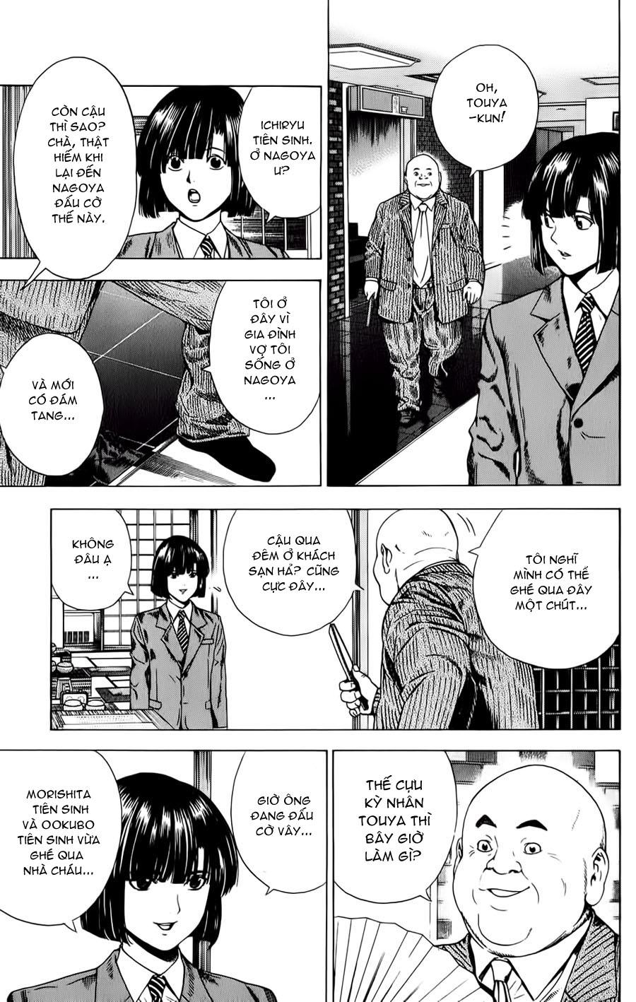 Hikaru No Go hikaru no go chap 121 trang 11