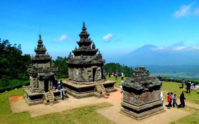 Candi Dengan Pemandangan Alam yang Bagus Candi Gedong Songo Semarang, Candi Dengan Pemandangan Alam yang Bagus