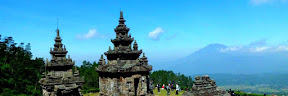 The view at Gedong Songo Temple