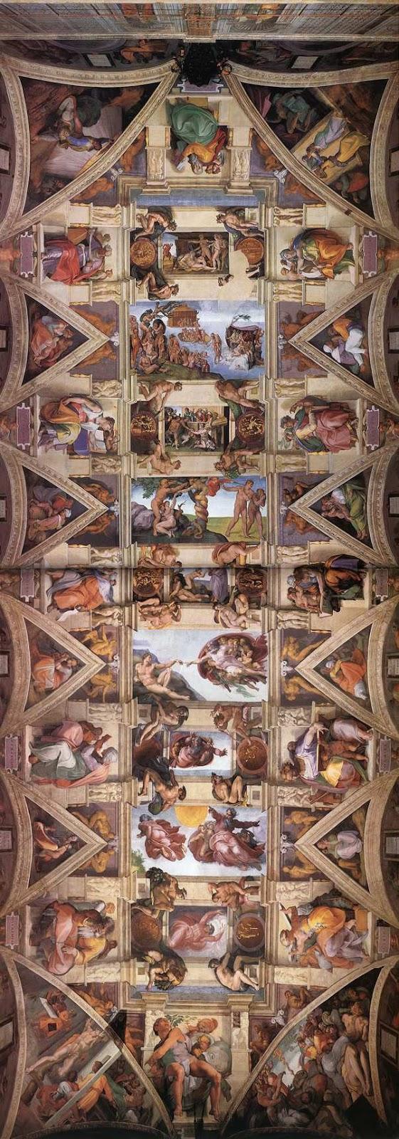 La Cappella Sistina compie 500 anni | Michelangelo Buonarroti 1475-1564