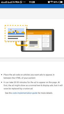 Cara Betul Pasang Iklan Adsense Di Blog