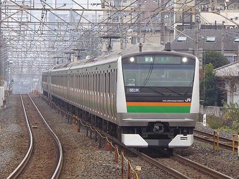 宇都宮線 普通 小金井行き E233系(毎日5本だけ運行)