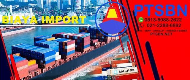 biaya jasa undernmae import, jasa import door to door, import udername resmi