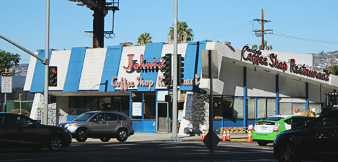 Johnies Coffee Shop Los Angeles Filming