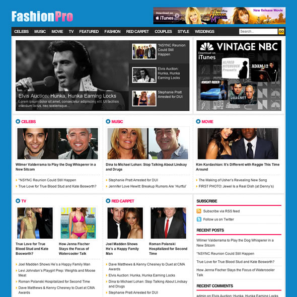 FashionPro Wordpress Theme
