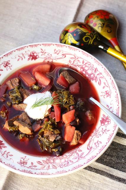 soupe betterave viande russe