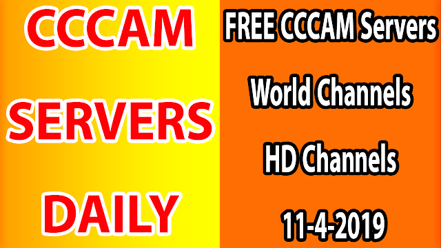 FREE CCCAM Servers World Channels +Sport HD Channels 11-4-2019