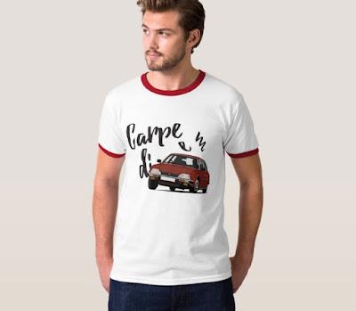 Carpe diem - tartu hetkeen - Citroen CX t-paita