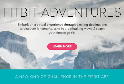 Fitbit Adventures; Experience Iconic Landmarks and Destinations in Every Step