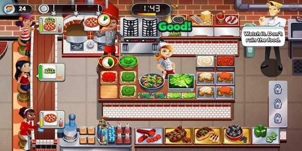 Download cooking  Free games