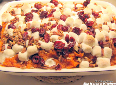Sweet Potato Casserole at Miz Helen's Country Cottage