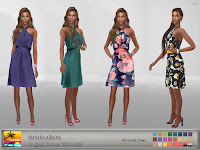 Belaloallure Ingrid Dress Recolor