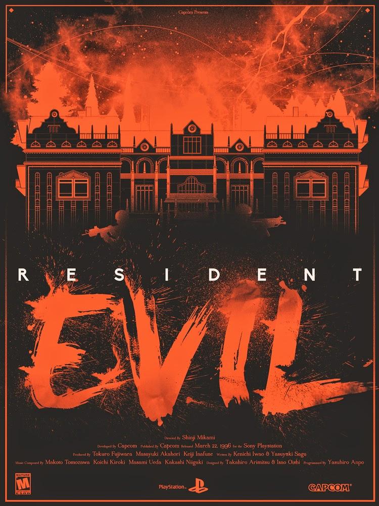 Resident Evil (fan art by Marinko Milosevski)