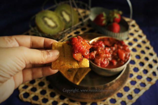Strawberry Kiwi Chutney