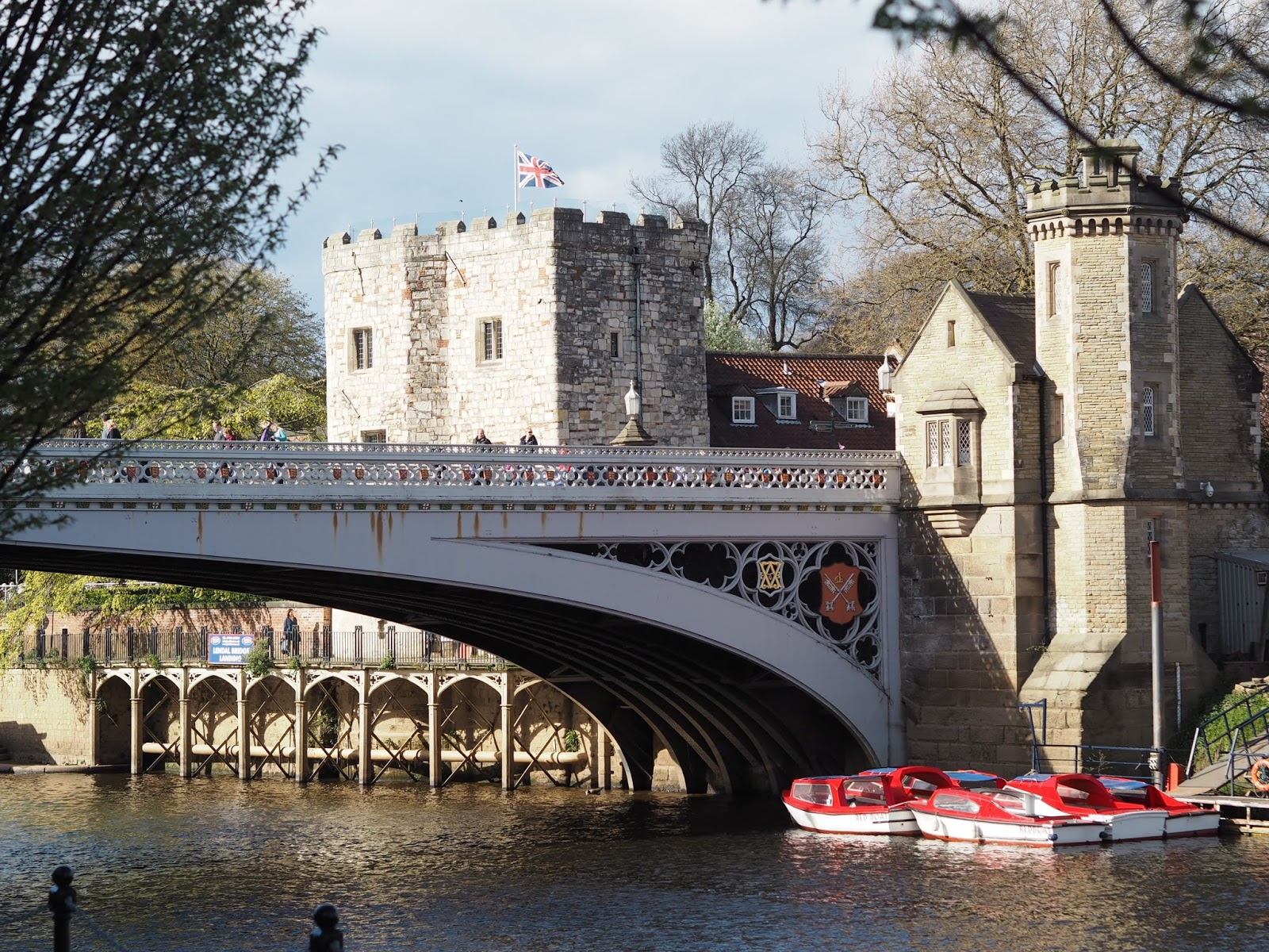 River Ouse and bridges, York